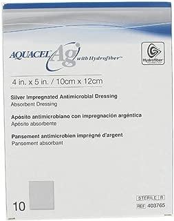 Aquacel Ag Absorbent Dressing with Hydrofiber (4