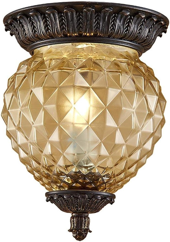 Retro Lampe Ananas Deckenleuchte Vintage E14 Flammig