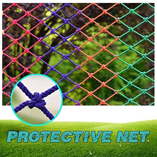 Kleur Beschermende Net indoor en outdoor decoratie Netto Bar Restaurant verlaagd plafond Partition Decoration Net van de visserij klimnet Veiligheid Protective Net Touw (polyester)