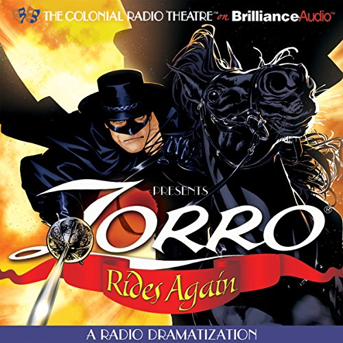 Zorro Rides Again cover art