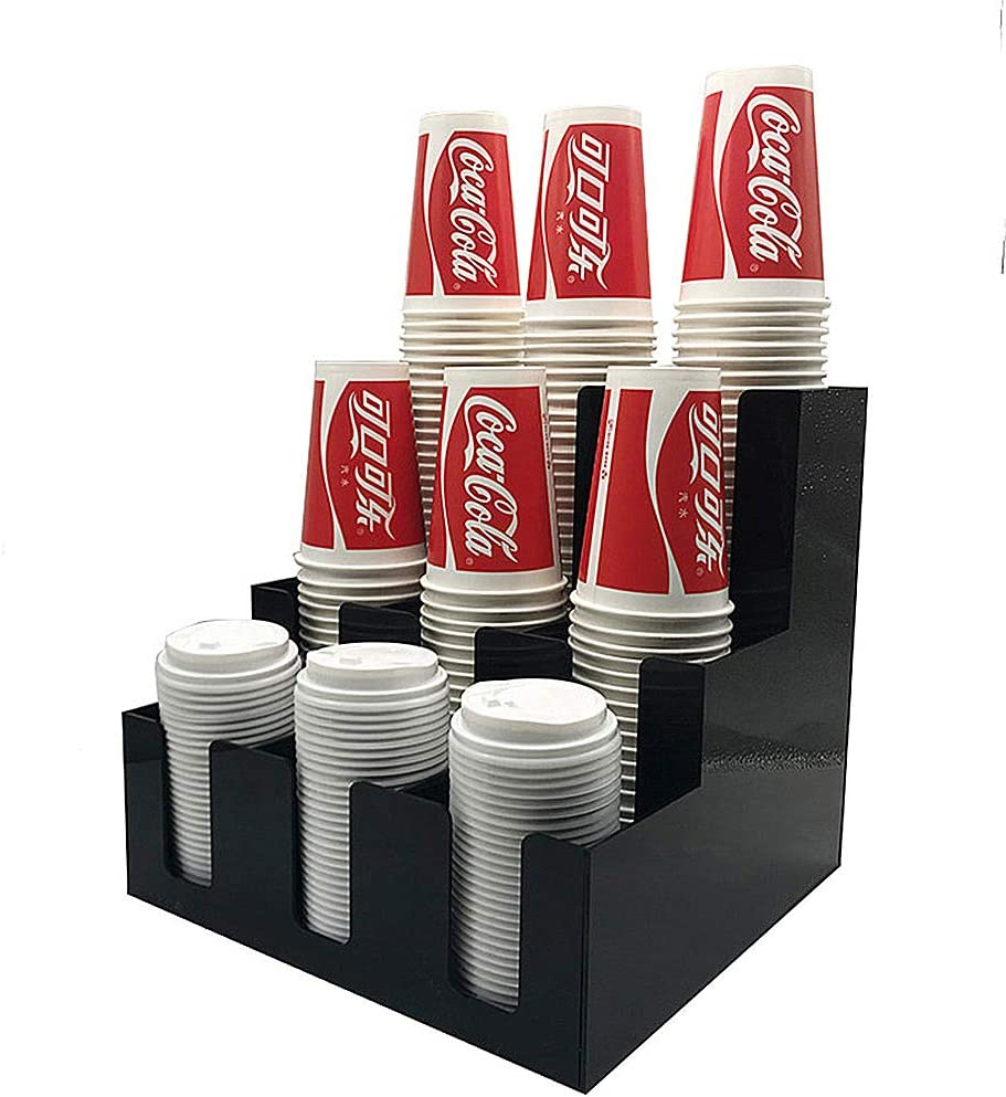 HOUSHIYU-521 3-Tier Vertical Coffee L Condiment Cup San NEW before selling Antonio Mall and