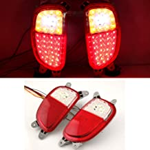 LEDist LED Rear LH RH Tail Reflector 3way Lights Lamp Assembly 2-pc Set For 2011 2012 2013 2014 Kia Picanto : All New Morning