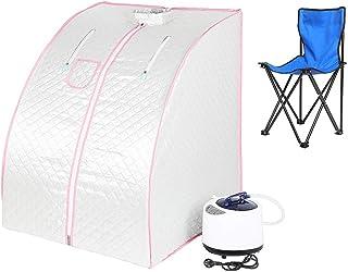 Sauna pliable cabine, Sauna infrarouge portable,Personal Spa at home Perspiration Perdre du poids avec le contrôleur de te...