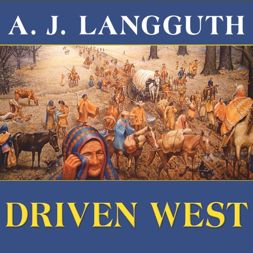 Driven West audiobook cover art