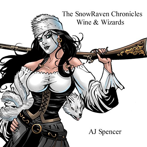 The SnowRaven Chronicles audiobook cover art