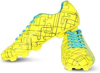 Vector X Chaser Kids Football Shoes (Green-Black-Firozi)