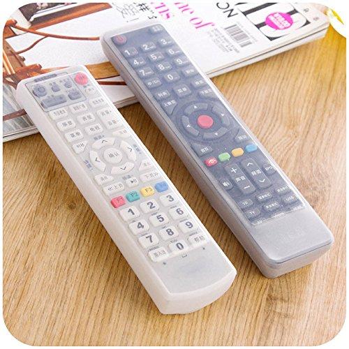 Ouneed Universelle TV Telecommande Etui Transparent Housse Coque de Protection Silicone Anti-poussière (16*6*2CM)