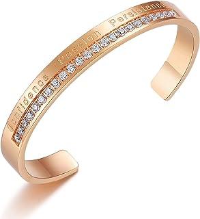 Inspirational Jewelry Gifts for Women Mom Cuff Bangle...