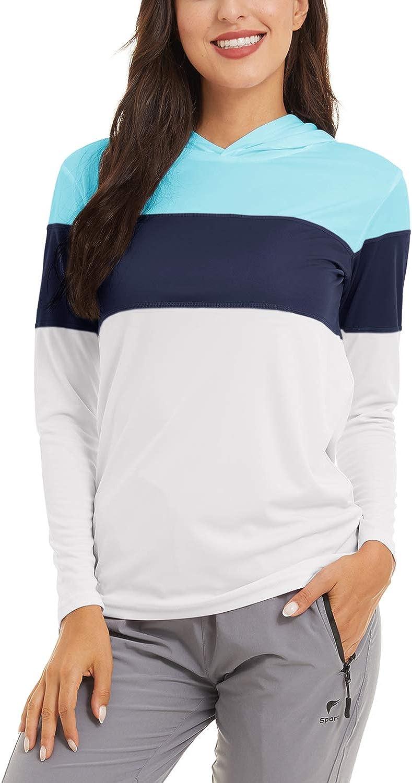TACVASEN Women's UPF Sale SALE% OFF 50+ Miami Mall Sun Gua Protection Rash Shirts Athletic