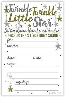 Best twinkle twinkle invitations Reviews