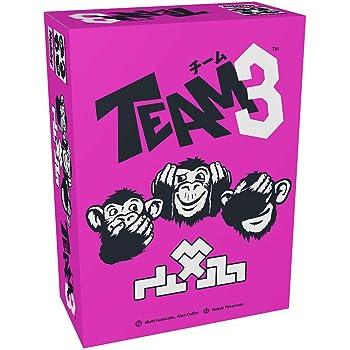 チーム3(ピンク) 日本語版