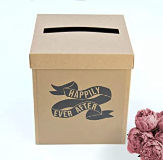 Rustic Wedding Card Box for Wedding Gifts | 8