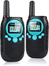 Rechargeable Walkie Talkies for Adults 5 Mile Long Range Kids Walkie Talkies 2 Pack 22CH 0.5W License Free Two Way Radio with Flashlight Walkie Talkies Toys for Boys Girls Electronic