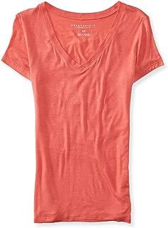 AEROPOSTALE Womens Seriously Soft Slim Basic T-Shirt