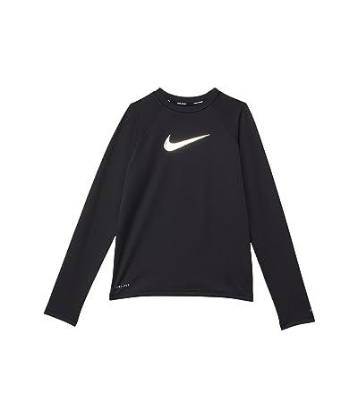 Nike Kids Swoosh Long Sleeve Hydroguard (Little Kids/Big Kids)