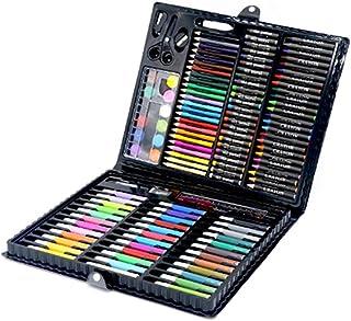 Marqueur surligneur 150pcs enfants Couleurs Dessin au crayon Artiste Kit peinture Art Marker Pen Pinceau outil de dessin f...