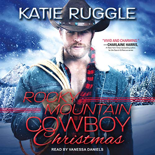 Rocky Mountain Cowboy Christmas audiobook cover art