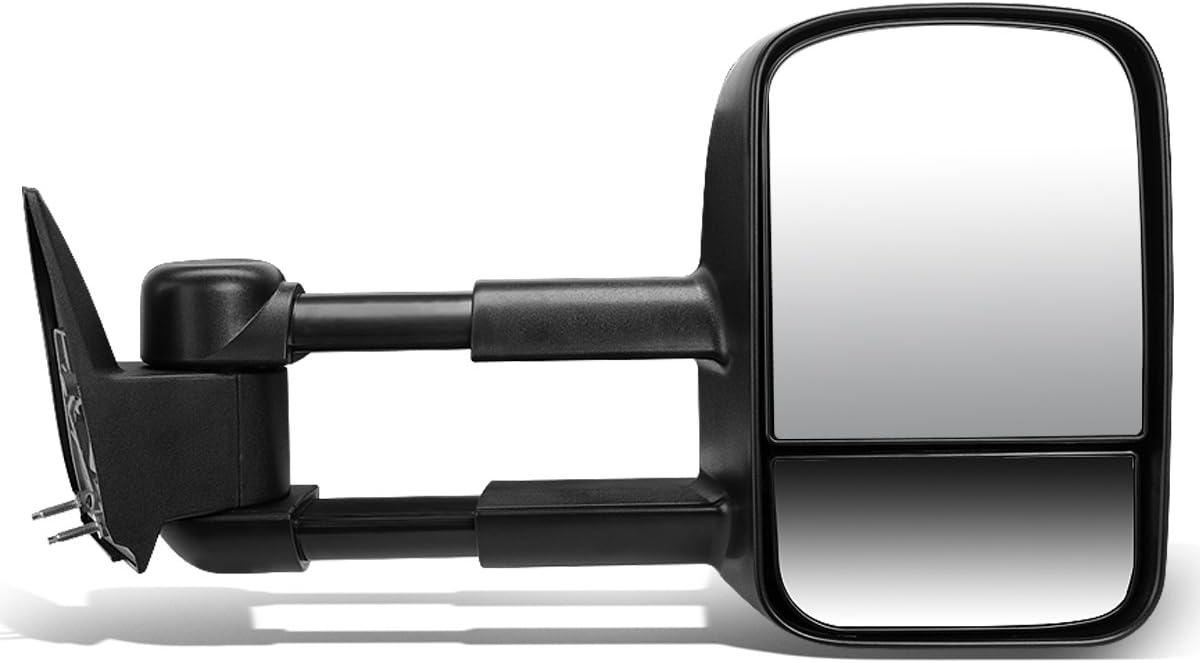 DNA Max Financial sales sale 69% OFF Motoring TWM-022-T222-BK-R Black Non-Heated Telescopi Manual