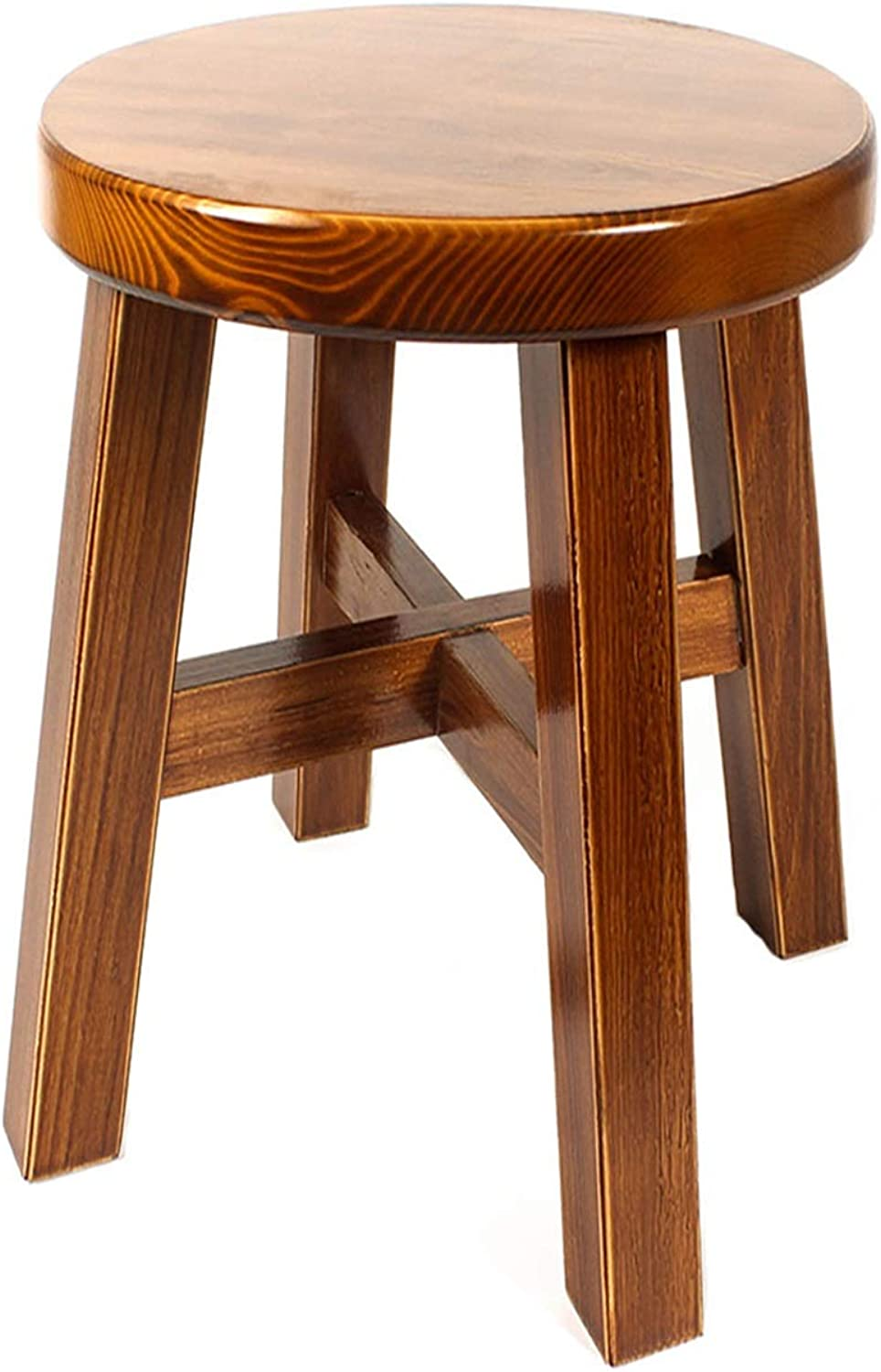 Stool Wood Stool Living Room Home Creative Adult Small Bench Fashion Simple Modern 01