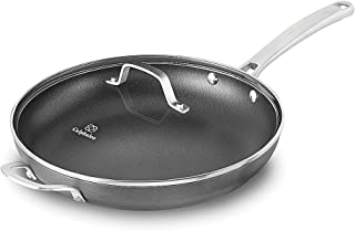 Calphalon 1932340 Classic Omelette Fry Pan with Cover, 12-inch, Grey