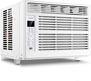 Aire acondicionado de ventana 12000 Unidad de aire acondicionado de ventana BTU con control remoto, 3 velocidades del ventilador, modo de deshumidificación, modo de suspensión, Timer,indicador digital