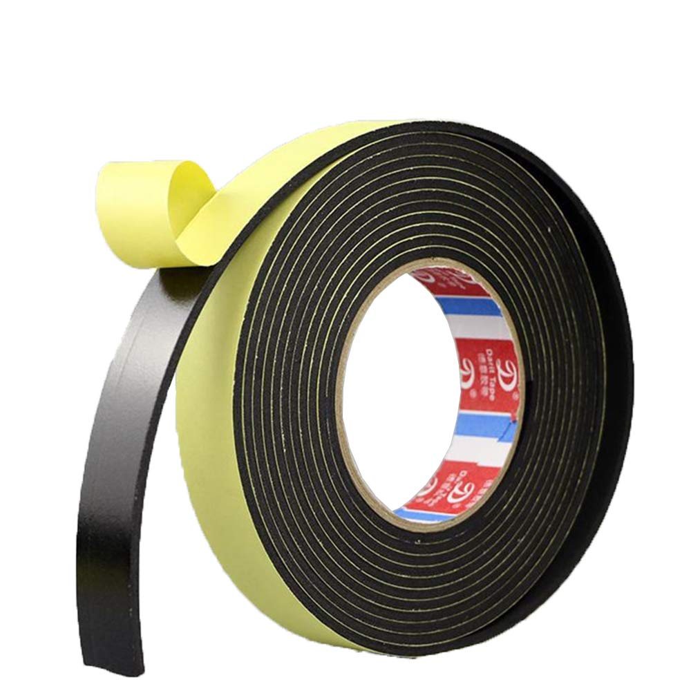 Tcplyn Premium Quality Selling and selling Self Adhesive Foam Single - Tape Black 5m store