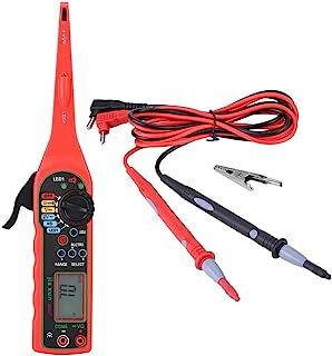 Comprobador de circuito eléctrico de coche, Keenso multímetro de diagnóstico herramienta de prueba de voltaje digital medi...
