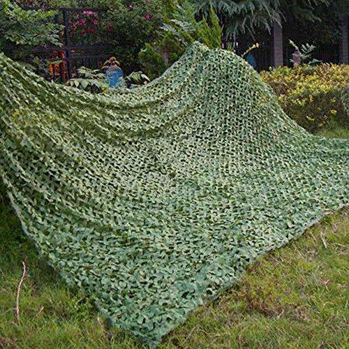 Librao Tarnnetz, für Waldflächen, Militär, Jagd, Zelten, Wüste, Sonnenschutz, grün, 3x5M