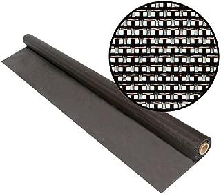 Phifer 3007926 48-Inch by 50-Feet SunTex 80 Brown Screen