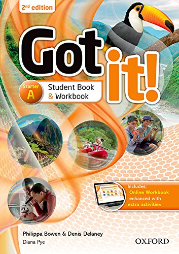 Got It! - Starter a - Student Book / Workbook With Multi-Rom - 02Edition