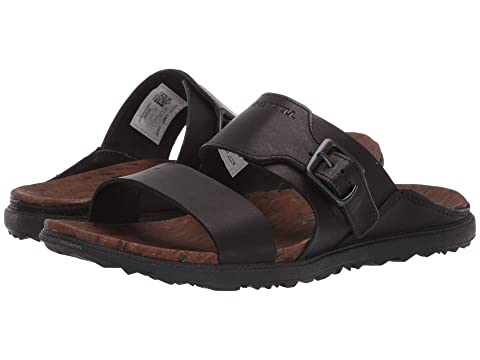 5e1b3c6f0fb Merrell Around Town Luxe Buckle Slide at Zappos.com