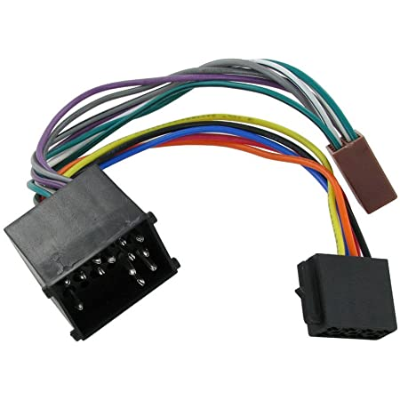 RED WOLF Car Stereo Radio ISO Wiring Harness Adaptor Loom for ...