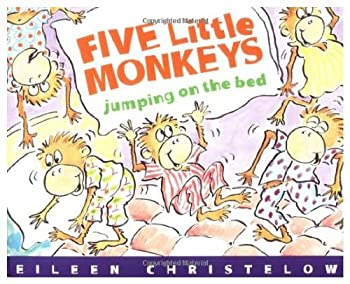 Paperback Harcourt School Publishers Signatures %LIB:5 LTL MONKEYS JUMP'G ON THE BED GR1: Library Book Grade 1 Five Little Monkeys Jumping On the Bed Book