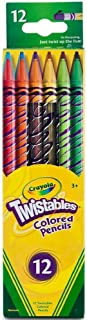 Crayola Twistables Colored Pencils, No Sharpening Required, 12 Count