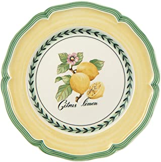 Villeroy & Boch 1022822640 French Garden Salad Plate, 8.25 in, Valence Lemon