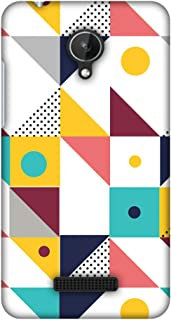 Micromax Canvas Spark Q380 Case, Premium Handcrafted Designer Hard Shell Snap On Case Shockproof Printed Back Cover for Micromax Canvas Spark Q380 - Chevron Chic 2