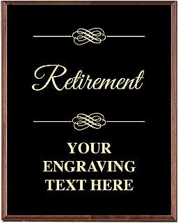 retirement award