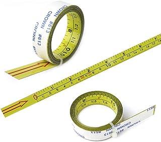 Mètre ruban auto-adhésif 1 m / 2 m / 4 m / 5 m / 10 m de gauche à droite pour routeur, avec rail en T pour couture, outil ...