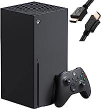 Microsoft Xbox Series X 1TB SSD Video Game Console + 1 Xbox Wireless Controller, Black - 8X Cores Zen 2 CPU, RDNA 2 GPU, 1...