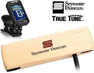 Seymour Duncan Woody Series SC SA-3SC - Single Coil Acoustic Guitar Pickup Tuner Bundle 11500-30