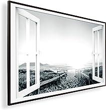 Könighaus Fern - Calefacción por infrarrojos con imagen en HD con TÜV/GS - 200+ imágenes - Con termostato - 7 programas di...