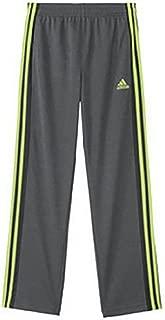 Adidas Boys' Core Climalite Pant Dark Grey/Yellow XL(18)