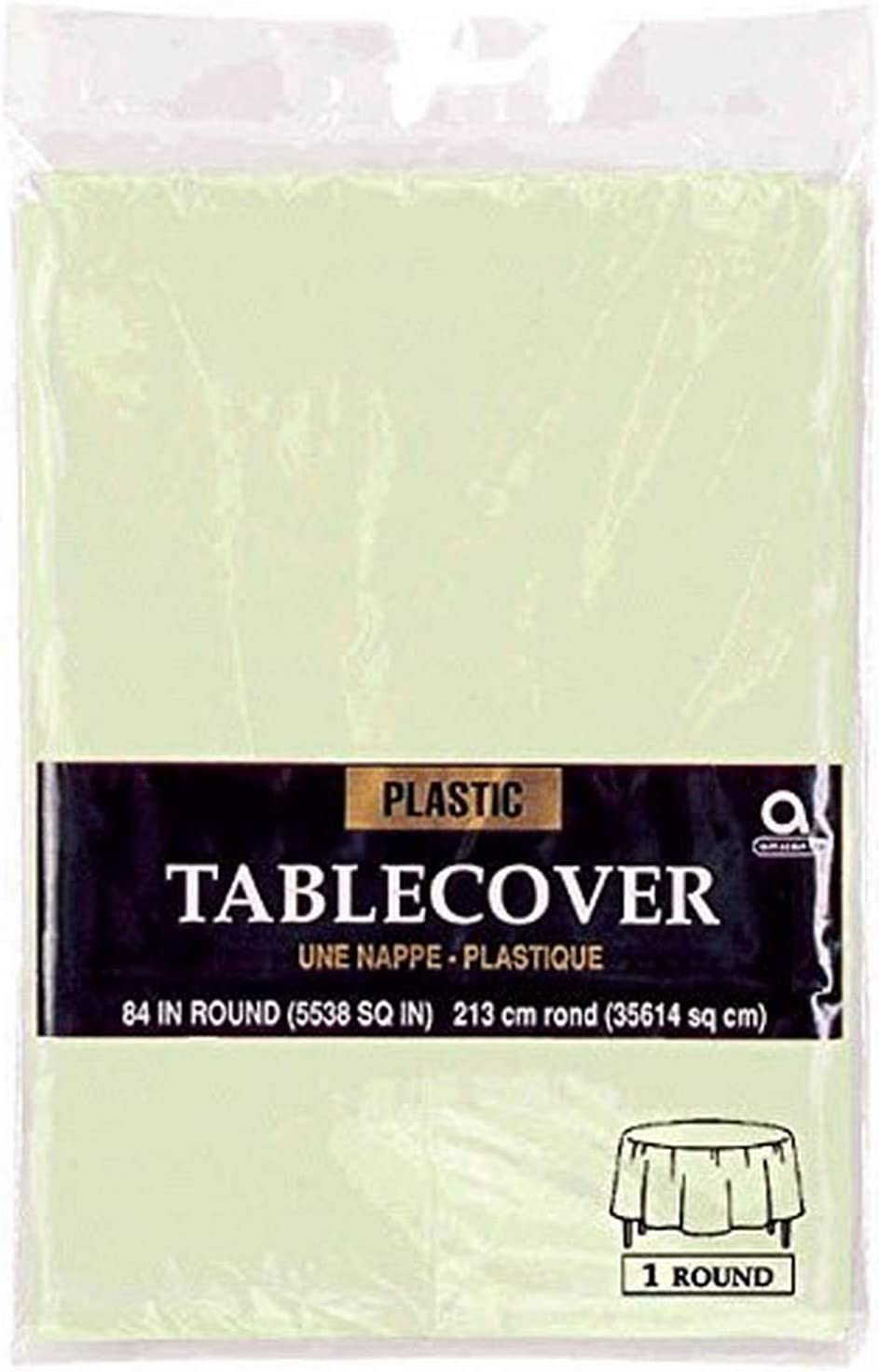 Amscan Paper Placemats Max 5 popular 72% OFF Party-tablecovers Leaf Green 84