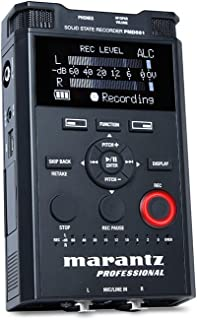 マランツプロ 業務用リニアPCMレコーダー 24bit/96kHz対応 信頼性が高い PMD561