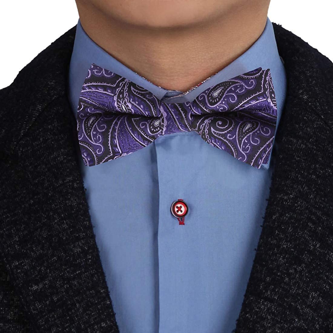 Epoint Men's Fashion Patterns Pre-tied Bowtie for Mens