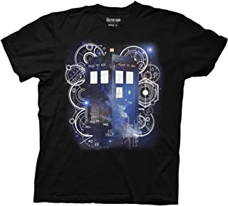 Ripple Junction Doctor Who Tardis Space Tech Adult T-Shirt