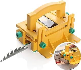 Blan 3D säkerhets-skjuthandtag flip-chip-elektriska cirkelsåg drag-hand-bordsåg bandsåg träbearbetning skjutreglage träbea...