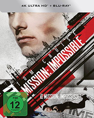 Mission: Impossible 1 - UHD-Steelbook (exklusiv bei amazon.de) [Blu-ray]