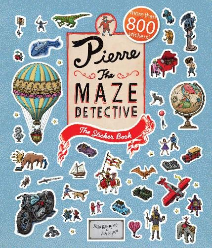 Image of Pierre the Maze Detective: The Sticker Book