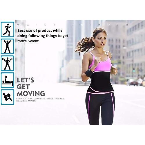fa545ff5c3 ADA Waist Trimmer Belt Slimming Neoprene Ab Belt Trainer for Faster Weight  Loss